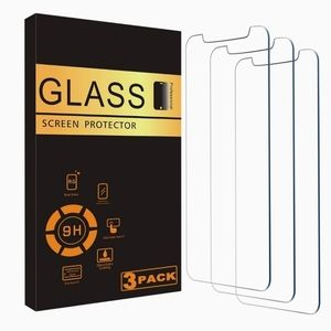 iPhone Screen protector Tempered glass 3 Pack